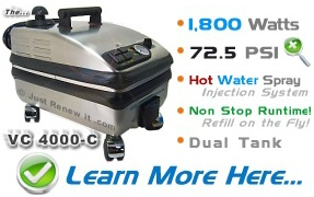 4000-C Commercial Steam Cleaner