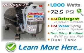 5000 Ci Industrial Steam Cleaner