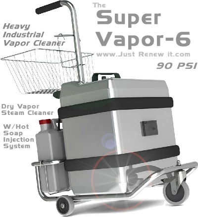 Super Vapor 6 Heavy Steam Cleaner