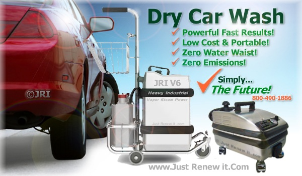 Dry Car Wash Machines Steam Cleaner For Carwash No Water Waist